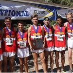 Mission Viejo High School Boys Varsity Cross Country finishes 1st place