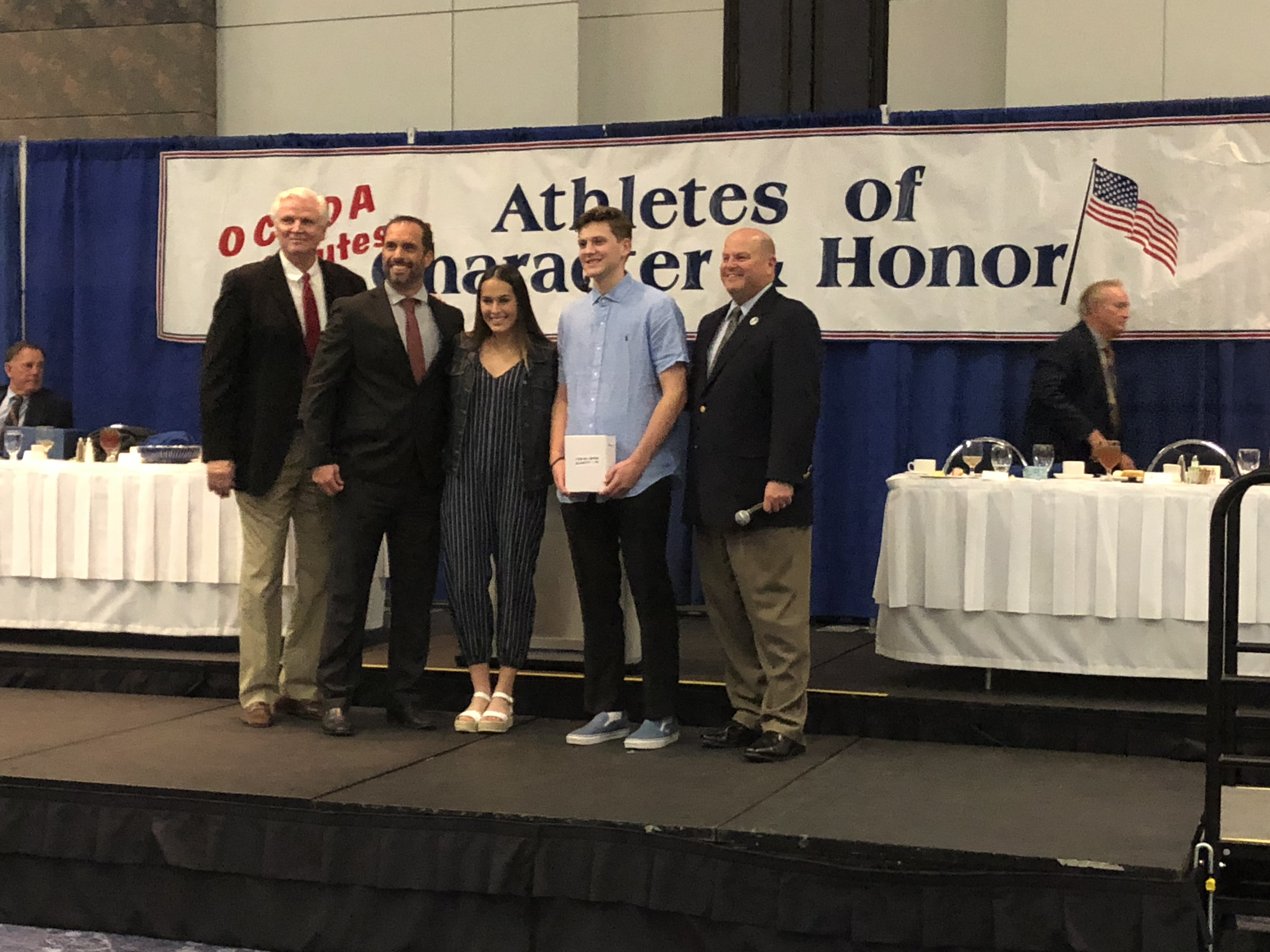 athletes of character ceremony