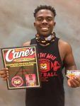 Raising Cane's Recognizes Jacquez Robertson
