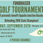 Baseball Golf Tournament Fundraiser