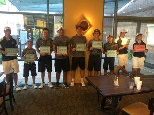 Boys Golf Rivalry Cup 2016