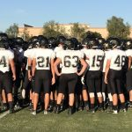 Apache Junction High School Varsity Football falls to Seton Catholic High School 28-13