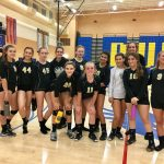 Apache Junction High School Girls Varsity Volleyball beat Buckeye Union High School 3-1