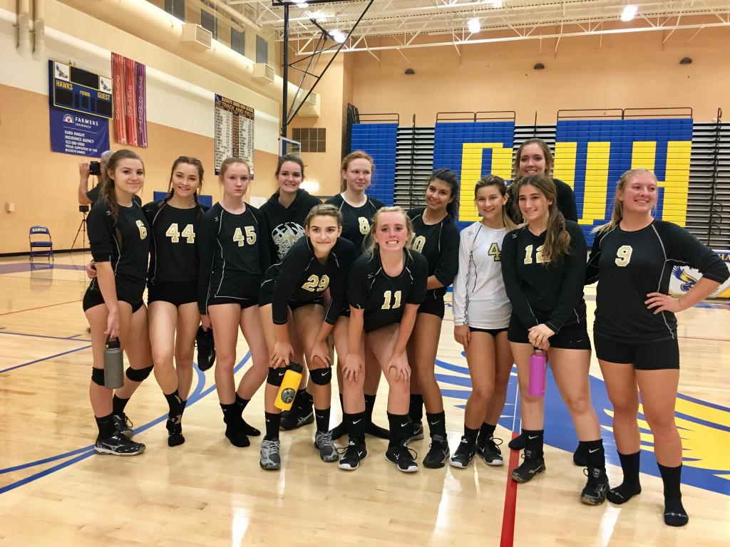 Apache Junction High School Girls Varsity Volleyball beat Buckeye Union High School 3-1