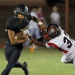 Varsity Football Kicks Off 3-Peat Quest with Scrimmage