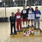 Glen Burnie High School Coed Varsity Wrestling finishes 4th place