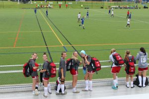 Girls Soccer at Annapolis