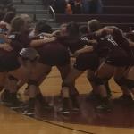 Ennis Girls 8th Grade Volleyball B beat Terrell High School 2-0
