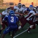Ennis High School Freshman Football White beat Corsicana High School 20-0