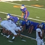 Ennis High School Junior Varsity Football White beat Corsicana High School 38-21