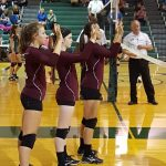 Ennis Girls 8th Grade Volleyball A falls to Waxahachie Howard MS 2-0