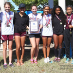 Lady Lions XC District Champions
