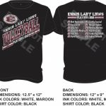 LADY LIONS VOLLEYBALL PLAYOFF SHIRTS