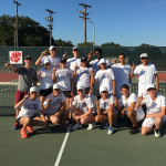 Ennis High School Coed Varsity Tennis beat Manvel High School 10-8