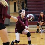 Ennis Girls 8th Grade Volleyball A falls to Waxahachie Finley 2-0