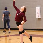 Ennis Girls 8th Grade Volleyball B falls to Waxahachie Finley 2-0