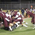 Ennis High School Varsity Football beat Nacogdoches High School 27-14