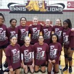 Ennis Girls 7th Grade Volleyball A falls to Midlothian Walnut Grove 2-0