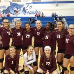 Ennis Girls 8th Grade Volleyball A falls to Midlothian Walnut Grove 2-0