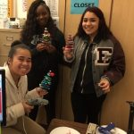 Students Creating Holiday Cheer for Local Seniors