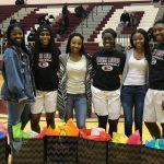 Ennis High School Girls Varsity Basketball beat Nacogdoches High School 63-45