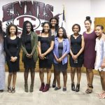 Lady Lion Basketball Honored at School Board Meeting