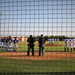 Ennis High School Varsity Baseball falls to Lindale High School 3-2
