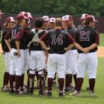 Ennis High School Varsity Baseball beat Rowlett High School 8-3