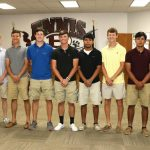 Varsity Baseball Recognized at School Board Meeting