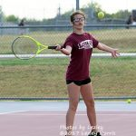 Coed Middle School Tennis beats Waxahachie 2 – 39