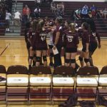 Girls 8th Grade Volleyball falls to Brown 2 – 0
