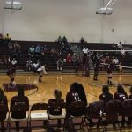 Girls 8th Grade Volleyball falls to Brown 2 – 1