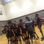 Girls 7th Grade Volleyball falls to Brown 2 – 0