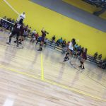 Girls 7th Grade Volleyball falls to Corsicana 2 – 1