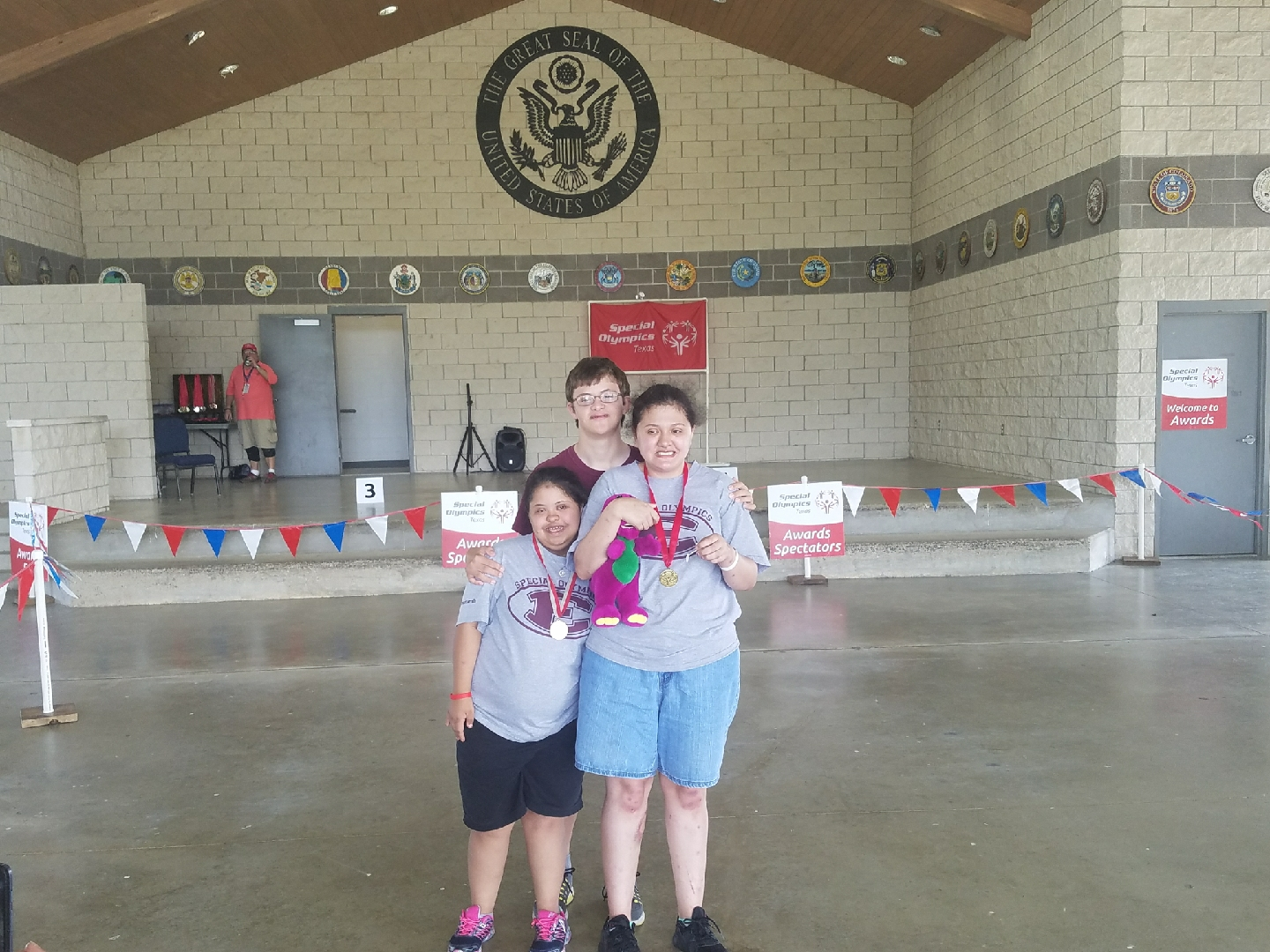Special Olympics Compete in College Station