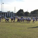 Boys 7th Grade Football beats Frank Seale 12 – 7