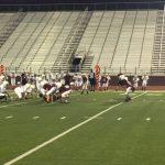Boys 7th Grade Football falls to Red Oak 20 – 19