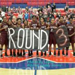 Ennis vs Rouse Area Basketball Playoff