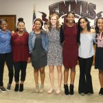 Lady Lion Basketball School Board Recognition