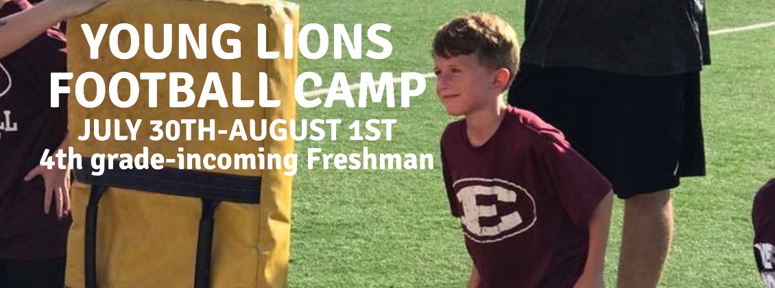 2018 Young Lions Football Camp Registration