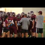 Freshman White Football Ties Waxahachie