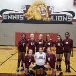 Ennis 8th Grade Volleyball vs Lancaster 9/27/18