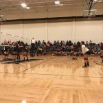 Girls 8th Grade Volleyball A falls to Kaufman 2 – 0