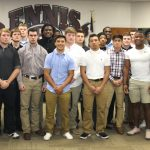 2018 Football Team Recognized at Board Meeting