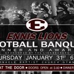 Ennis Lions Football Banquet