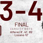 Boys Varsity Soccer beats Red Oak 4 – 3