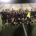 Boys Varsity Soccer beats University 4 – 2