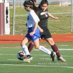 Girls JV Soccer vs Midlothian