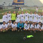 Girls Varsity Soccer beats Corsicana 1 – 0