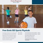 Free Physicals for EISD Athletes